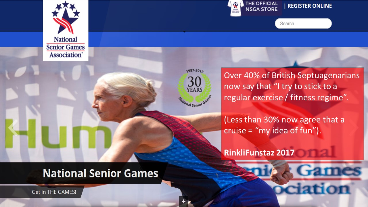 Sport, Competition and Extreme Ageing : a revolution in the making.