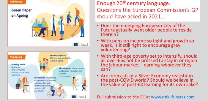 Can the European Union help us to age well now?